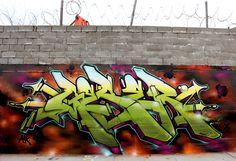 Creative Geser, Graffiti, Wall, Senses, and Lost image ideas & inspiration on Designspiration Graffiti Piece, Graffiti Writing, Best Graffiti, Graffiti Murals, Graffiti Lettering, Street Mural, Street Art Graffiti, Spray Can Art, Wildstyle