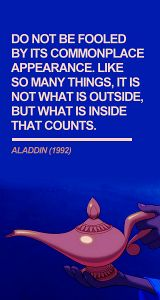 wise words from disney Disney Style, Disney Love, Disney Magic, Disney Animation, Disney Pixar, Walt Disney, Disney Princes, Aladdin 1992, Aladdin Movie