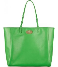 Chic Green Tote Bag