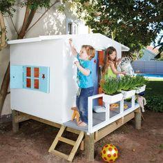 Tous au jardin ! Hut of garden for children