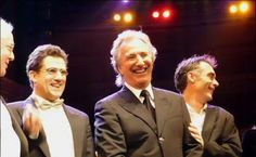 """Music from the Movies – Charity Event 2007. Alan Rickman attend Leukaemia Research Charity Event, """"Music from the Movies"""", on October 28, 2007 at the Royal Albert Hall, London, England."""