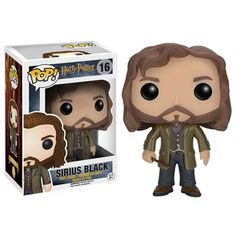 Sirius Black Funko Pop Vinyl Figure from the Harry Potter series of films. Brought to you by Pop In A Box, the site Funko Pop! Vinyl shop