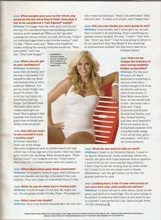 Beauty comes in all different sizes - Seventeen Magazine - Whitney Thompson