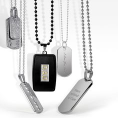 When it comes to their kids, dads are always on active duty. Let him show that off with this unique dog tag. #fatherdaygifts
