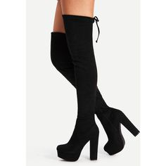 7b2022f356e6 Bamboo Buckled Over-The-Knee Boots