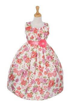 Search results for: 'cinderella couture big girls coral jacquard print occasion easter dress 8 Coral Flower Girl Dresses, Girls Dresses, Flower Girls, Satin Flowers, Elegant Flowers, Tea Length Skirt, Jacquard Dress, Easter Dress, Types Of Dresses