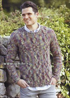 Suéter melange Hombre con diamantes, de los diseñadores finlandeses. 42-44-46-48-50-52