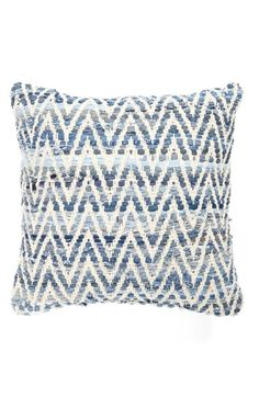 Brentwood Originals Denim Chevron Pillow available at #Nordstrom