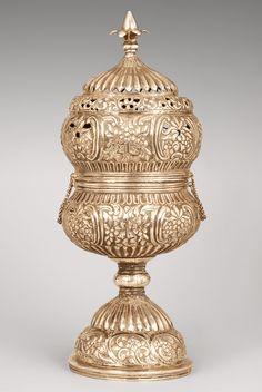 Brûle-encens - Incense burner, XIXth cent., Armenia | Flickr - Photo Sharing!