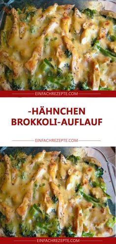 Hähnchen-Brokkoli-Auflauf 😍 😍 😍