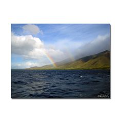 'Over the Rainbow' by Christopher Doherty Photographic Print on Wrapped Canvas