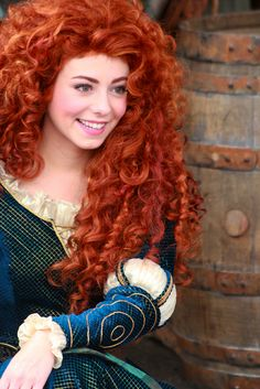 """I can't wait to meet Merida from """"Brave""""!"""