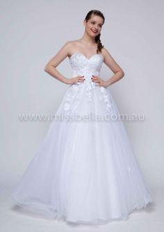 Cheapest Deb Dresses and Wedding Dresses in Melbourne #debdress #deb #debutante #lace #strapless #corset #princess