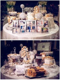 s'more buffet | unique wedding idea | wedding favors | http://absolutemediaproductions.com/wedding-videos/ | #AbsoluteMediaProductions