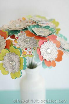 Handmade Flower Bouquet | A Thoughtful Place Blog