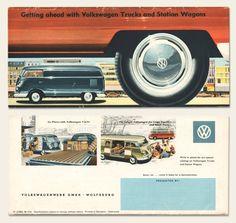 1958/59 Volkswagen Bus Brochure | OldBrochures.com