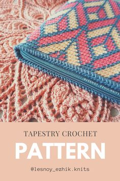 Tapestry Crochet Patterns, Crochet Stitches Patterns, Bag Crochet, Crochet Hooks, Tapestry Bag, Crochet Projects, Cosmetic Bag, Knitting, Bags