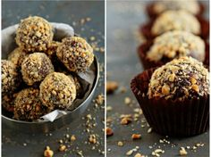 Nuts for Nutella: 24 Nutella Recipes to Make Now! - Bars, Brownies, and Bon Bons.Truffles too. - Nuts for Nutella: 24 Nutella Recipes to Make Now! via Brit + Co. Nutella Truffles with Frangelico - Homemade Milk Chocolate, Homemade Nutella Recipes, Hot Chocolate Cookies, Brownie Recipes, My Recipes, Sweet Recipes, Cake Recipes, Dessert Recipes, Breakfast Recipes