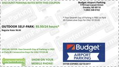 charlie brown airport parking coupons