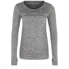 Langarmshirt - grey/silver by Nike Performance