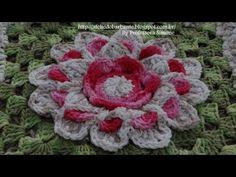 Passo a passo Mega Flor Azaleia Parte-1 - YouTube