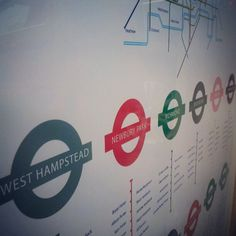 Another lovely example of a London Underground style wedding seating plan by Gemma Milly - www.gemmamilly.com