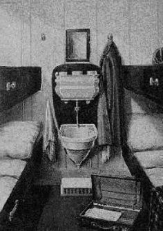 3rd class cabin on the Titanic
