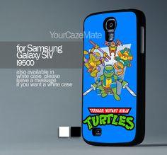 Cute Teenage Mutant Ninja Turtles , For Samsung s4 Hard Plastic Black | YourCazeMate - Accessories on ArtFire