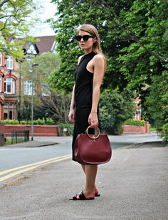 Style Trunk : The T by Alexander Wang Jersey Midi Dress