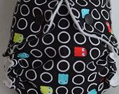 #11 custom made diapers. (WAHMs) Would love to own the one pictured.   #clothdiapers #nopins