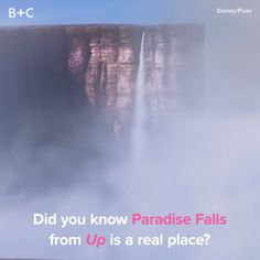 Paradise Falls is REAL!