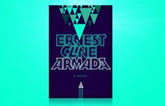 Cover design by William Staehle for Armada by Earnest Cline. Website shows iterations versus final .