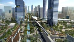 An image of the new Andhra Pradesh capital, Amaravati