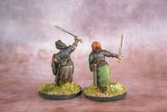 Jacksarge Brushes & Battles: Shieldmaidens!