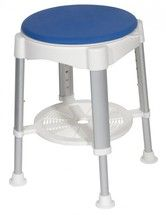 #bathroom #safety #equipment-Bath Stool with Padded Rotating Seat - rtl12061