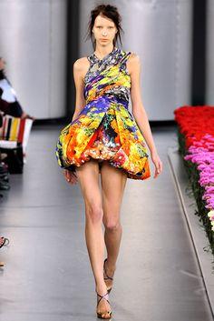 Mary Katrantzou Spring 2012 Ready-to-Wear Fashion Show - Uliana Tikhova