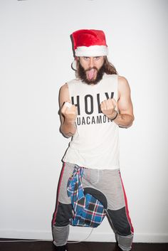 Terry Richardson's Diary — Jared at my studio #15 DECEMBER 24, 2014
