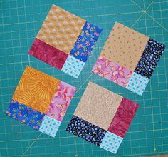 Confessions of a Fabric Addict: disappearing 9-patch tutorial and quilt layouts