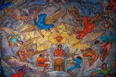 Basílica de Guadalupe Painting, Art, Virgin Mary, Art Background, Painting Art, Kunst, Paintings, Performing Arts, Painted Canvas