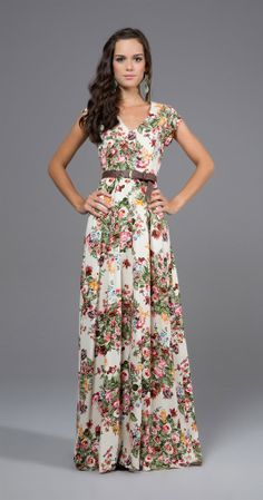 Fashion trends | Floral maxi dress