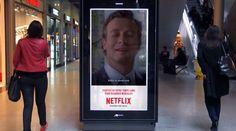 Netflix Digital Billboards Campaign