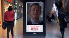 Netflix Digital Billboards Campaign