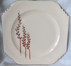Vintage 1920s 1930s Pussywillow Leigh Ware Cake by AuntSuesVintage, $14.99