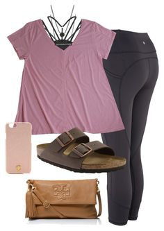 Birkenstock, kendra scott and tory burch lazy day outfits, high school outf Lazy Day Outfits, Casual Fall Outfits, Mom Outfits, College Outfits, Outfits For Teens, Spring Outfits, Cute Outfits, School Outfits, Cute Workout Outfits