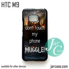 Harry Potter and Muggle - Z Phone Case for HTC One M9 case and other HTC Devices