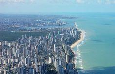 """Recife! Cidade do """"SPORT CLUB DO RECIFE"""" Estado de Pernambuco, Brasil."""