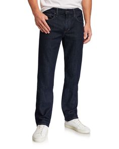 Joe's Jeans Men's The Classic Straight-fit Jeans In Blue Joes Jeans, Jeans Fit, Lycra Spandex, Classic, Fitness, Blue, Clothes, Shopping, Style