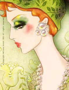 Persephone-2  By Melissa Brunet. http://melissabrunet.com/blog/