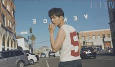 Park Bo Gum Hangs Out In Venice Beach For December Elle | Couch Kimchi