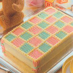 Baby Blanket Cake - GoodHousekeeping.com